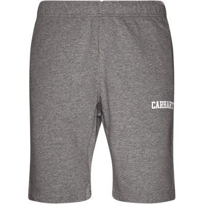 College Sweat Shorts Regular | College Sweat Shorts | Grå